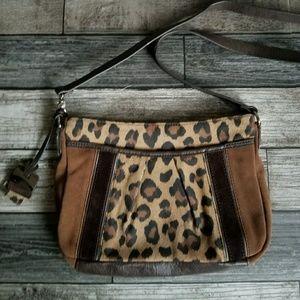 TIGNANELLO leopard crossbody